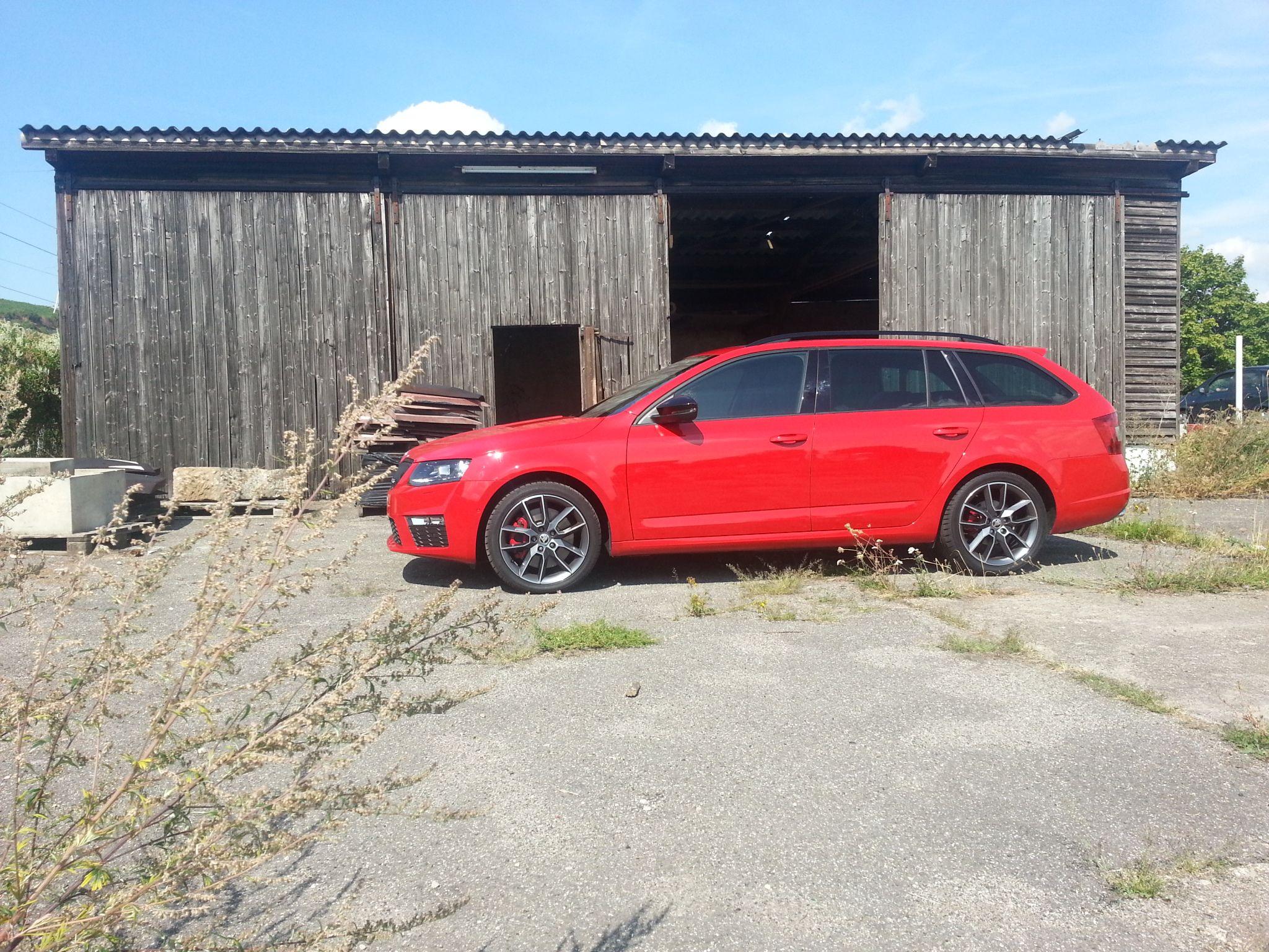 Familiencheck Mit Dem Škoda Octavia Rs Combi August