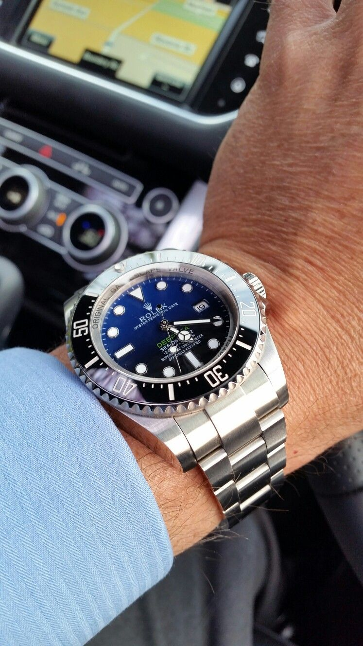 Rolex deepsea dweller blue horizon Oct 2016.
