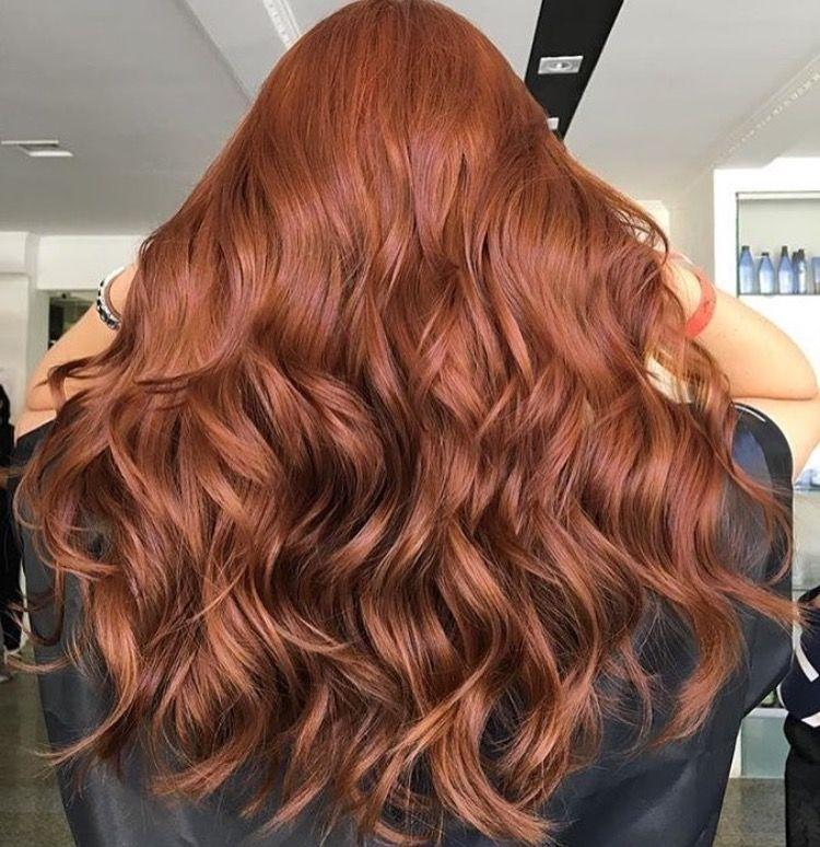 Ruivo Escuro 74 Wella Hair Inspiration Pinterest Hair
