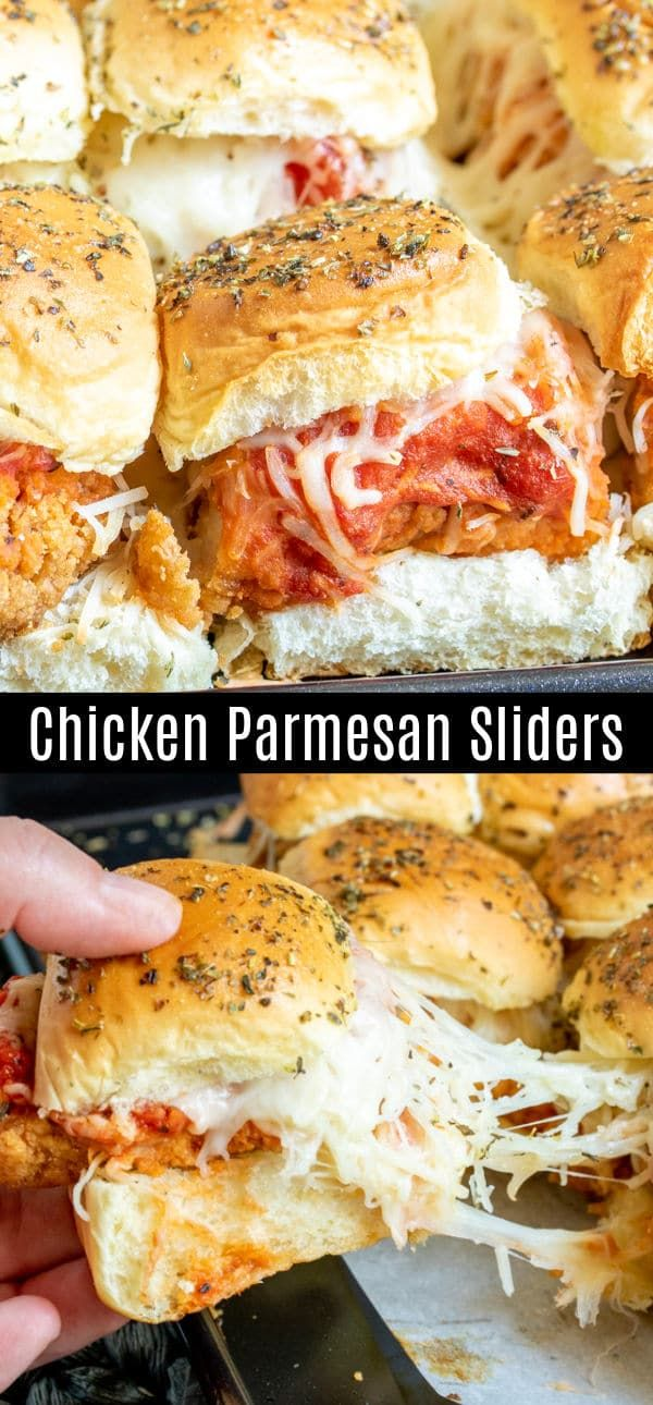 Chicken Parmesan Sliders | Home. Made. Interest.