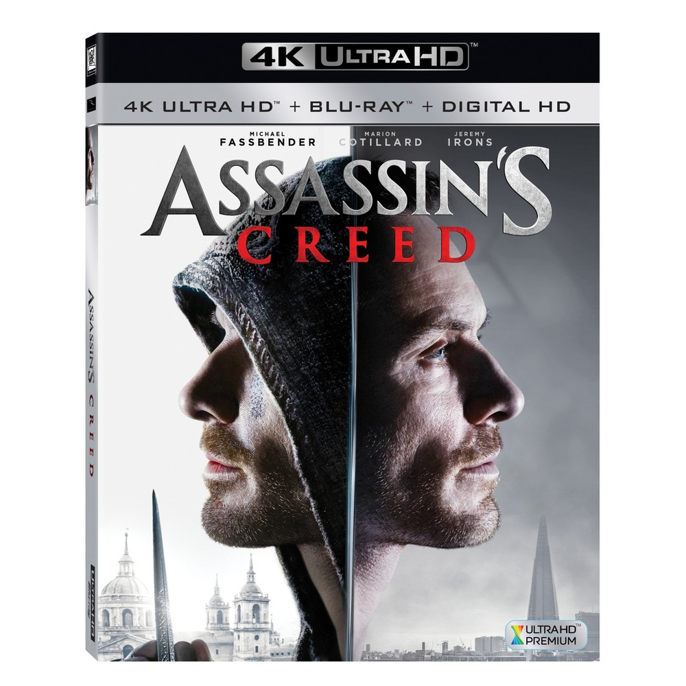 Assassin S Creed 4k Uhd Digital Creed Pelicula Fassbender