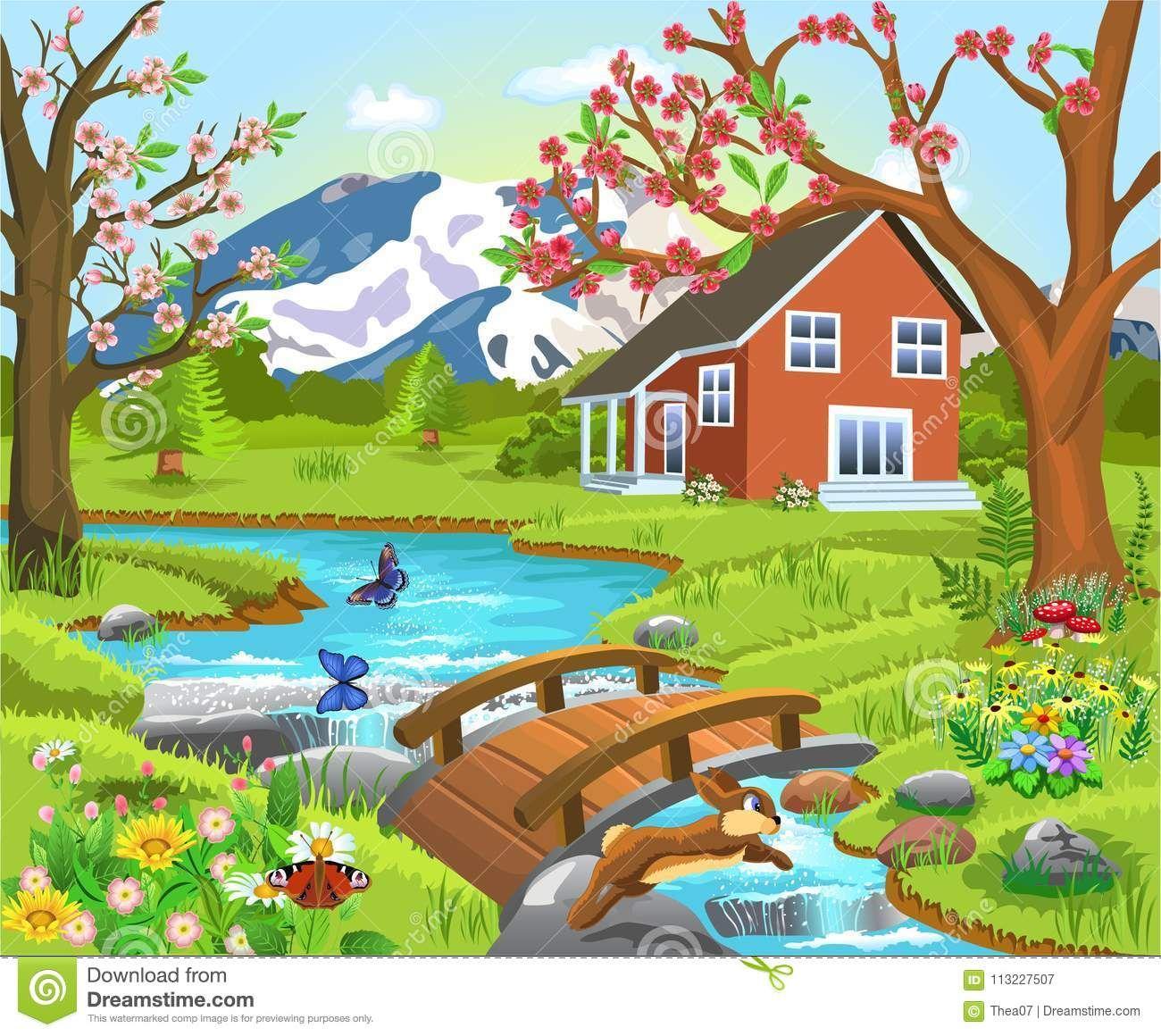 Paisaje Natural Y Cultural Definicion Y Dibujo Para Colorear Buscar Con Google Paisaje Para Colorear Paisajes Paisajes Dibujos