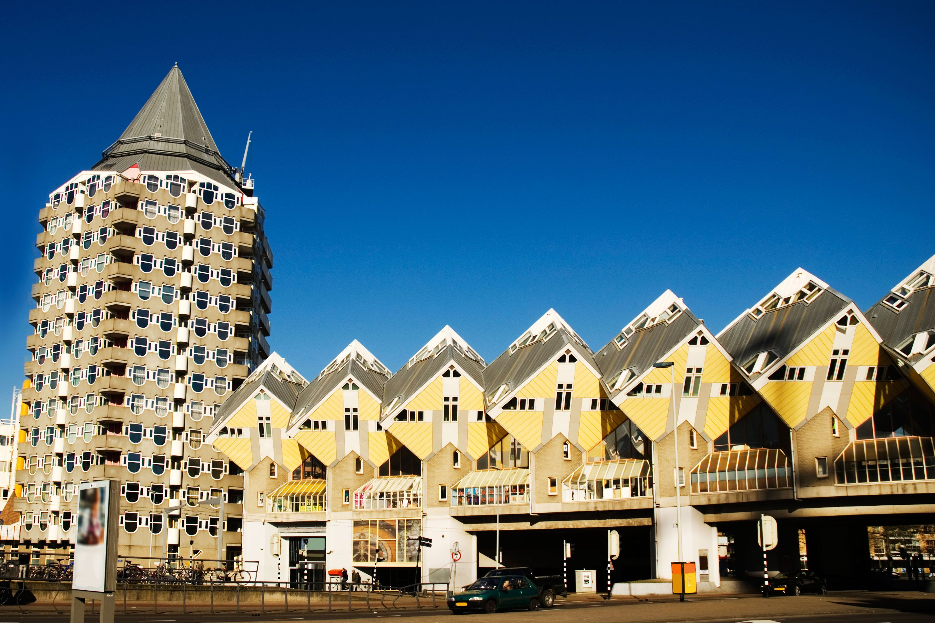 Kubik Haus Rotterdam Cubic Houses Now They Stand In Front Of The