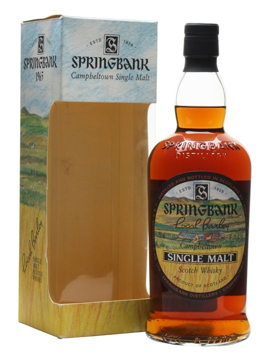 Springbank 1965 / 36 Year Old / Local Barley / Cask #6 Scotch Whisky : The Whisky Exchange