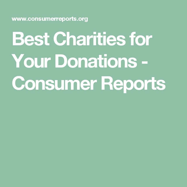 Best And Worst Charities For Your Donations