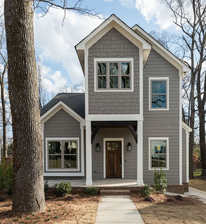 Dovetail Sherwin Williams Exterior Newly Built Home With Farmhouse Inspired Interiors Home Bunch
