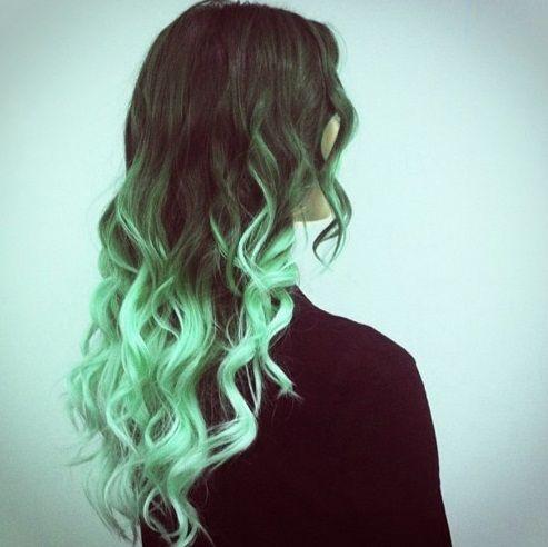 24++ Seafoam green hair color inspirations