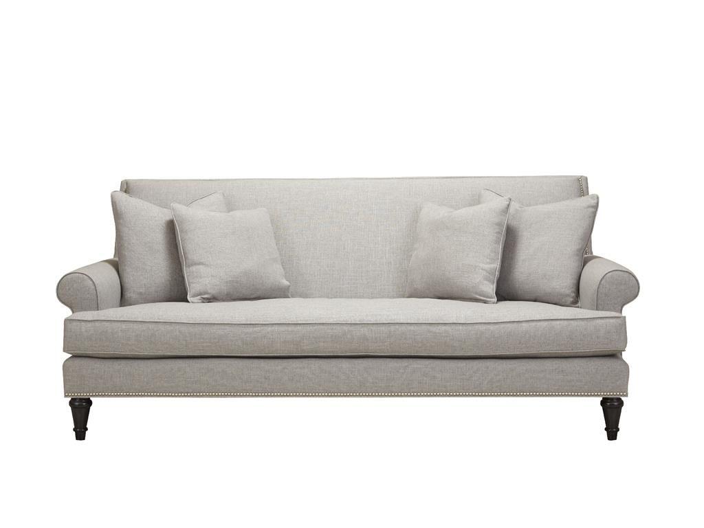 Southern Furniture Living Room Aubrey Sofa 23771 Hickory Furniture