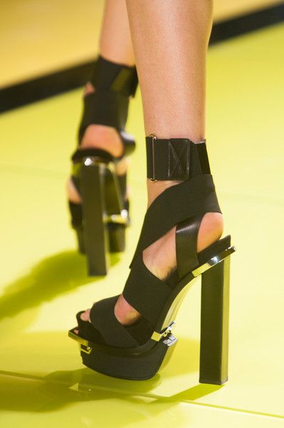b74c49e90934 Versace at Milan Fashion Week Spring 2014