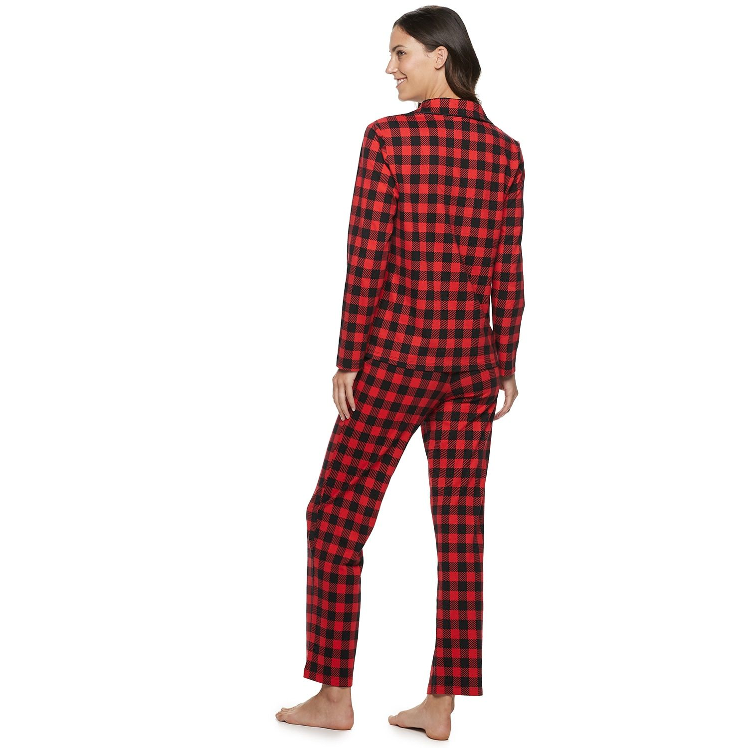 Women S Cuddl Duds Cool Bear Top Bottoms Pajama Set By Jammies