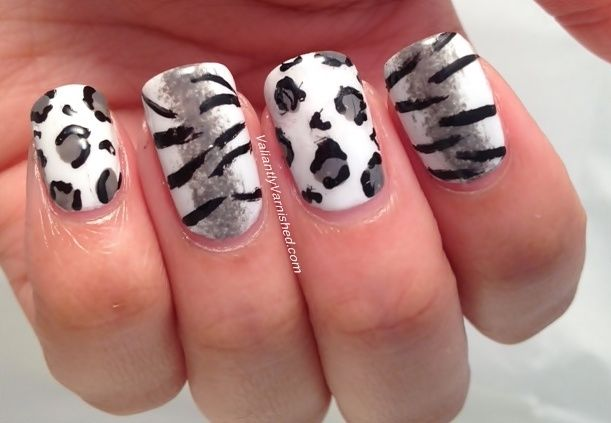 Valiantly Varnished: Born Pretty Store Review - 2 Way Nail Art Polish Pen and Tiger and Leopard Print Skittles