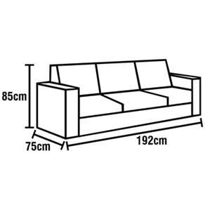 qual a medida de um sofá de 3 lugares - Pesquisa Google ...