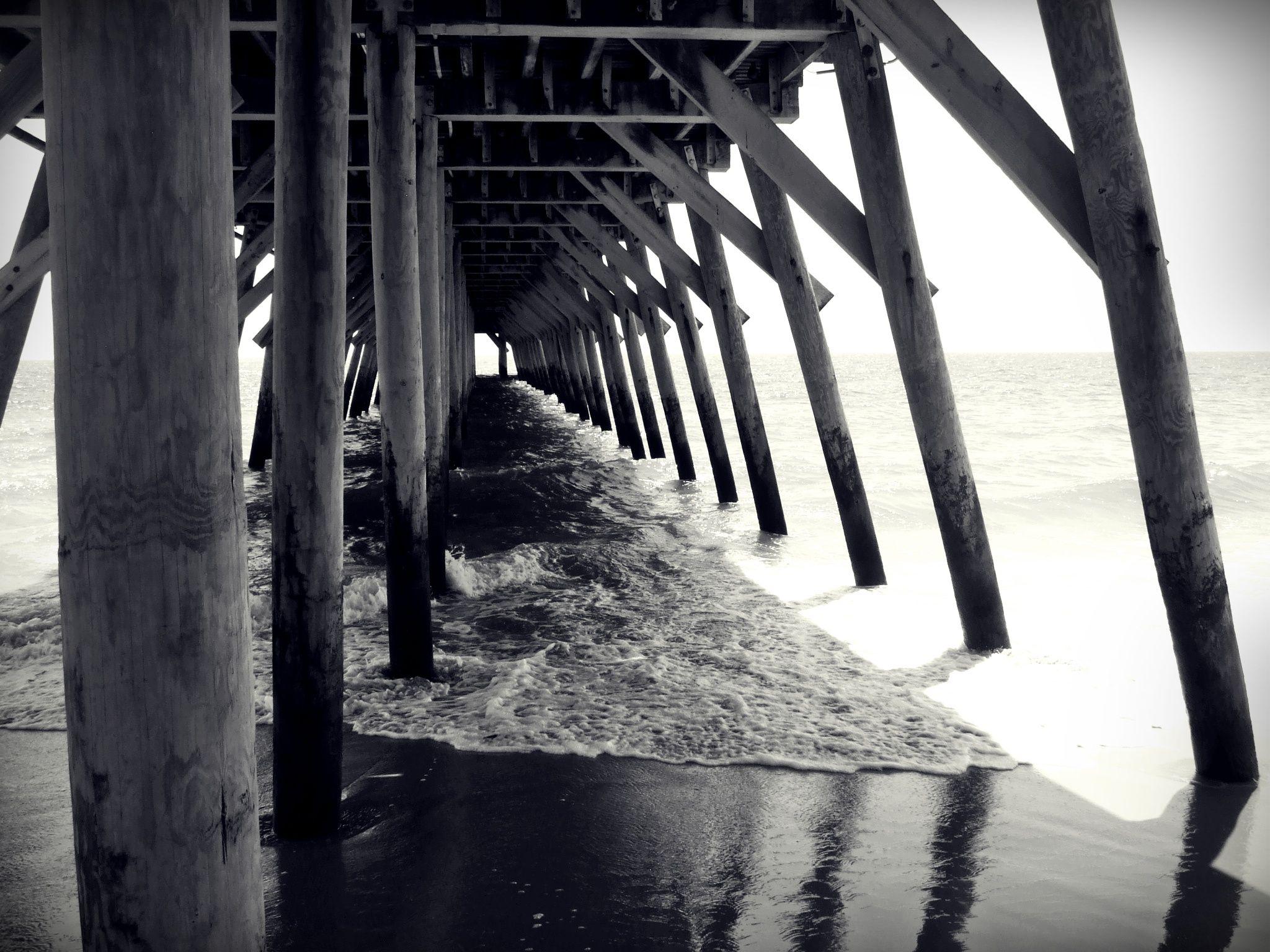 Myrtle Beach State Park Pier, Sc State parks, Myrtle beach