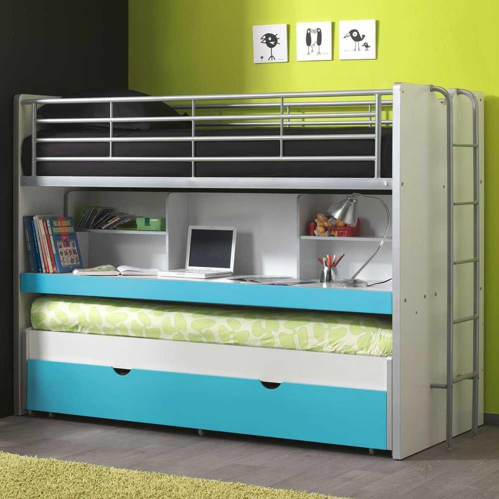 Design Etagenbett Mit Schreibtisch Gästebett Jetzt Bestellen Unter: Https:// Moebel.ladendirekt.de/kinderzimmer/betten/etagenbetten/?uidu003dbb42ba0c D8ca 5e70   ...