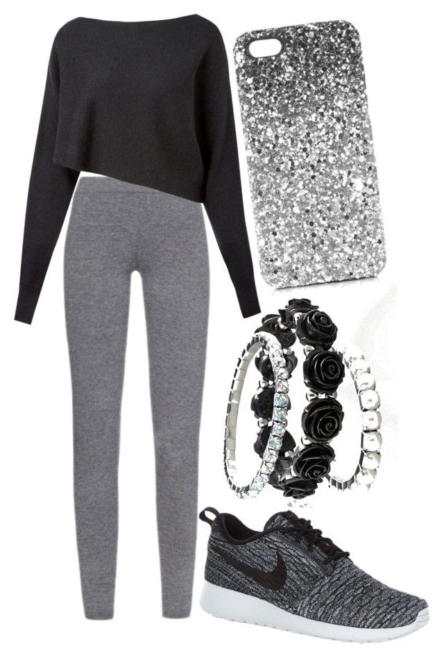 """""""44"""" by motavator-2003 ❤ liked on Polyvore featuring MaxMara, Crea Concept, NIKE, Avenue and Topshop"""