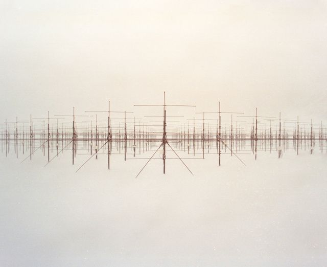 """A Visual Tour of the Research Base At the End of the World: Decaying """"sound mirrors,"""" an early, low-tech concrete structure that concentrated sound waves to detect radar, by Reuben Wu."""