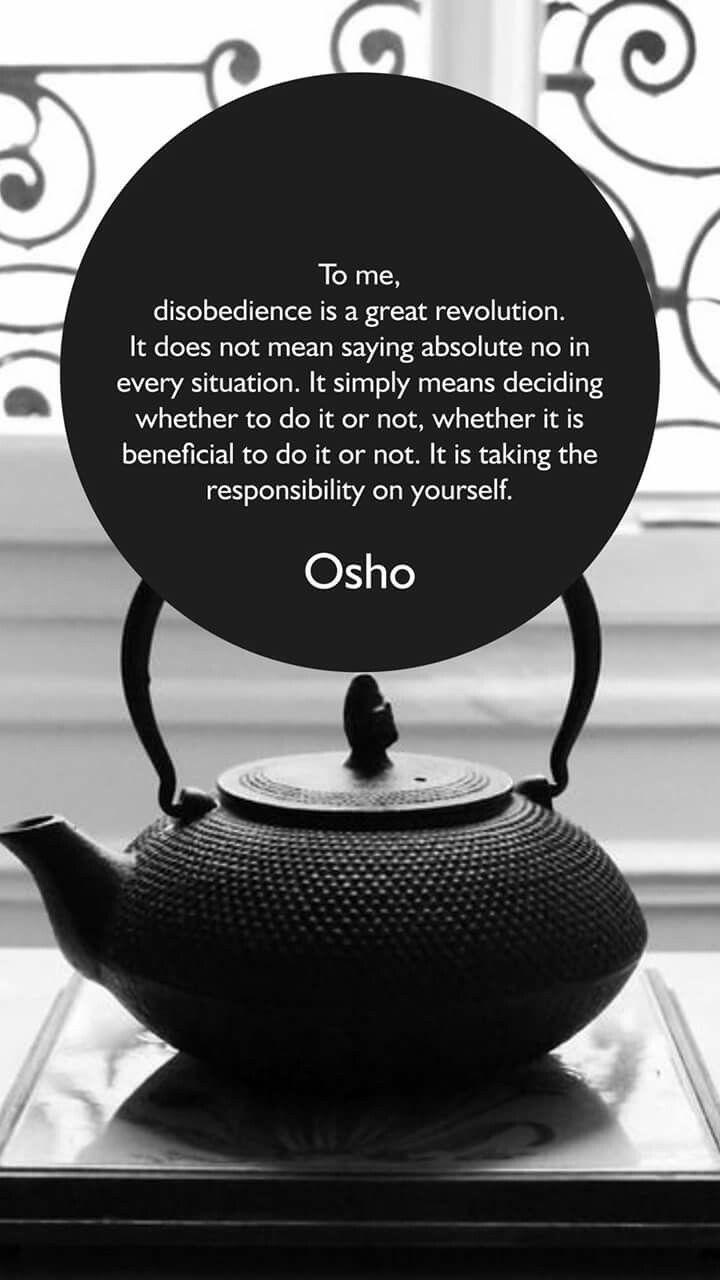 Osho by Sapling To Tree Center of Lear | Osho, Wisdom ...