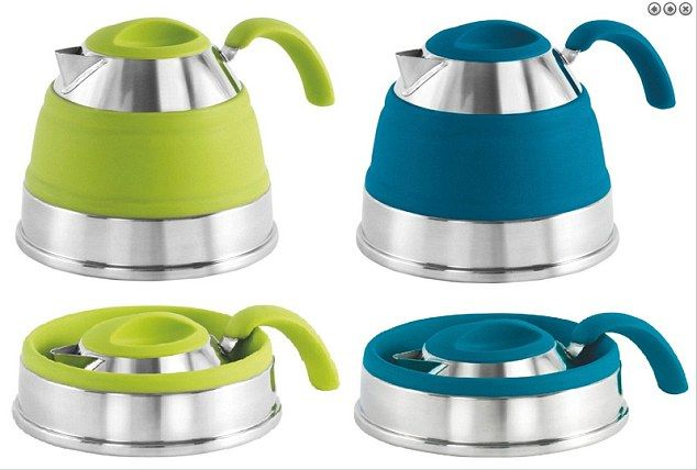 The Outwell Collaps Kettle is a silicone and stainless steel camping kettle that collapses…