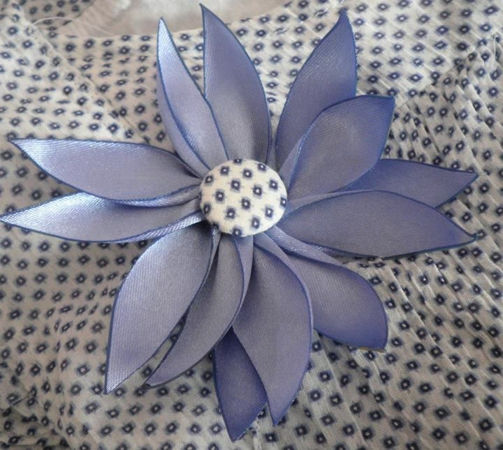Silk ribbon flower perrins world fashion pinterest silk silk ribbon flower mightylinksfo