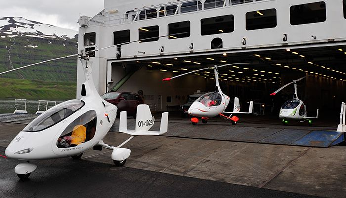 Islandsk flyveeventyr