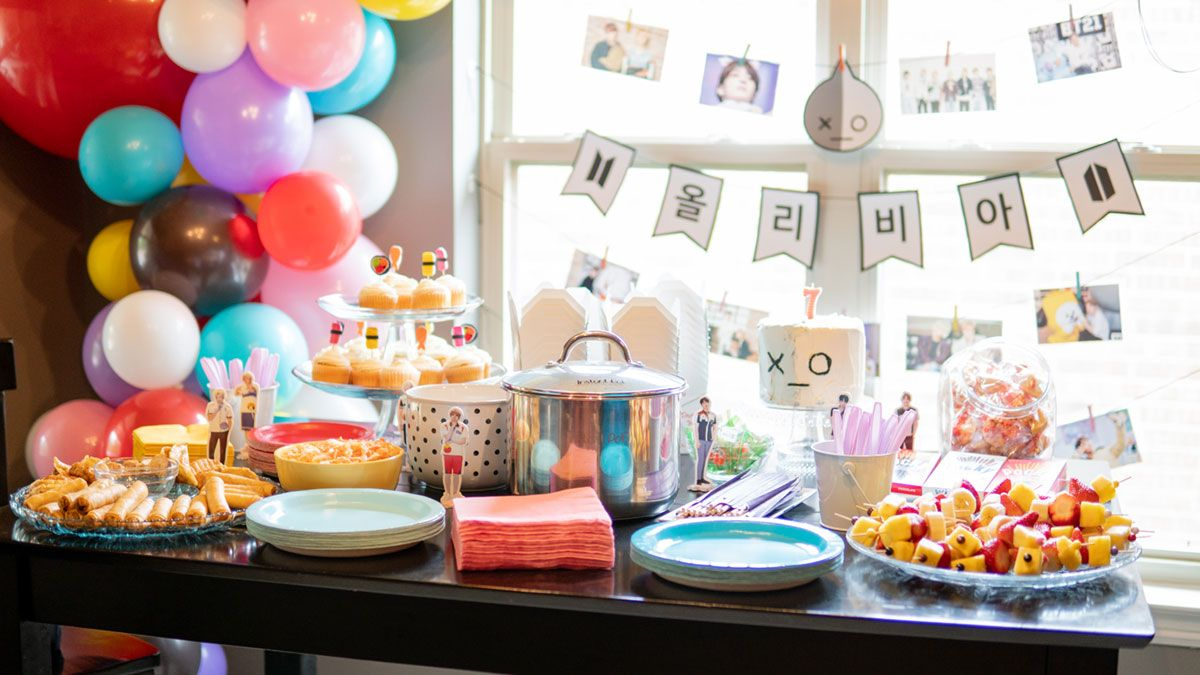 Bts Bt21 Character Themed Birthday Party Birthday Party Themes