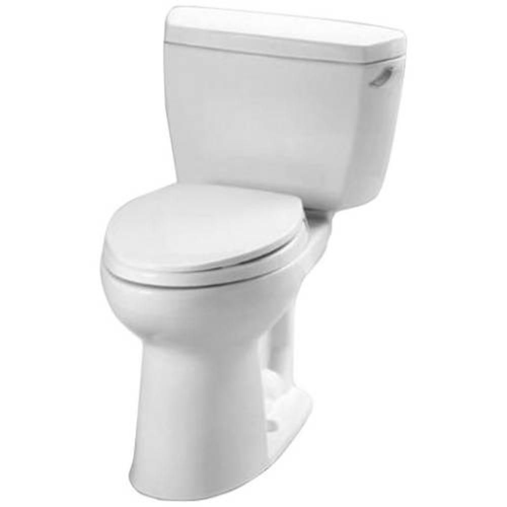 Toto Eco Drake Ada Compliant 2 Piece 1 28 Gpf Single Flush