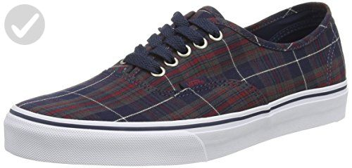 3ba3d1f15d Vans Unisex Authentic Plaid Skate Shoes-Plaid Dress Blues-14.5-Women 13-Men  - Mens world ( Amazon Partner-Link)