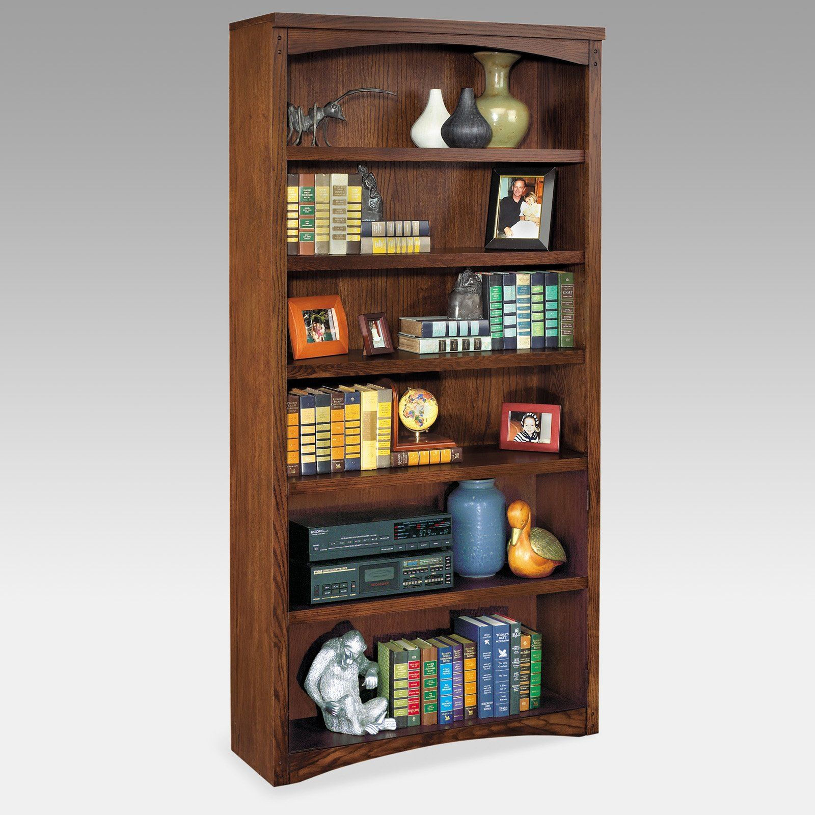 Have to have it. kathy ireland Mission Pasadena Wood Bookcase $399.99