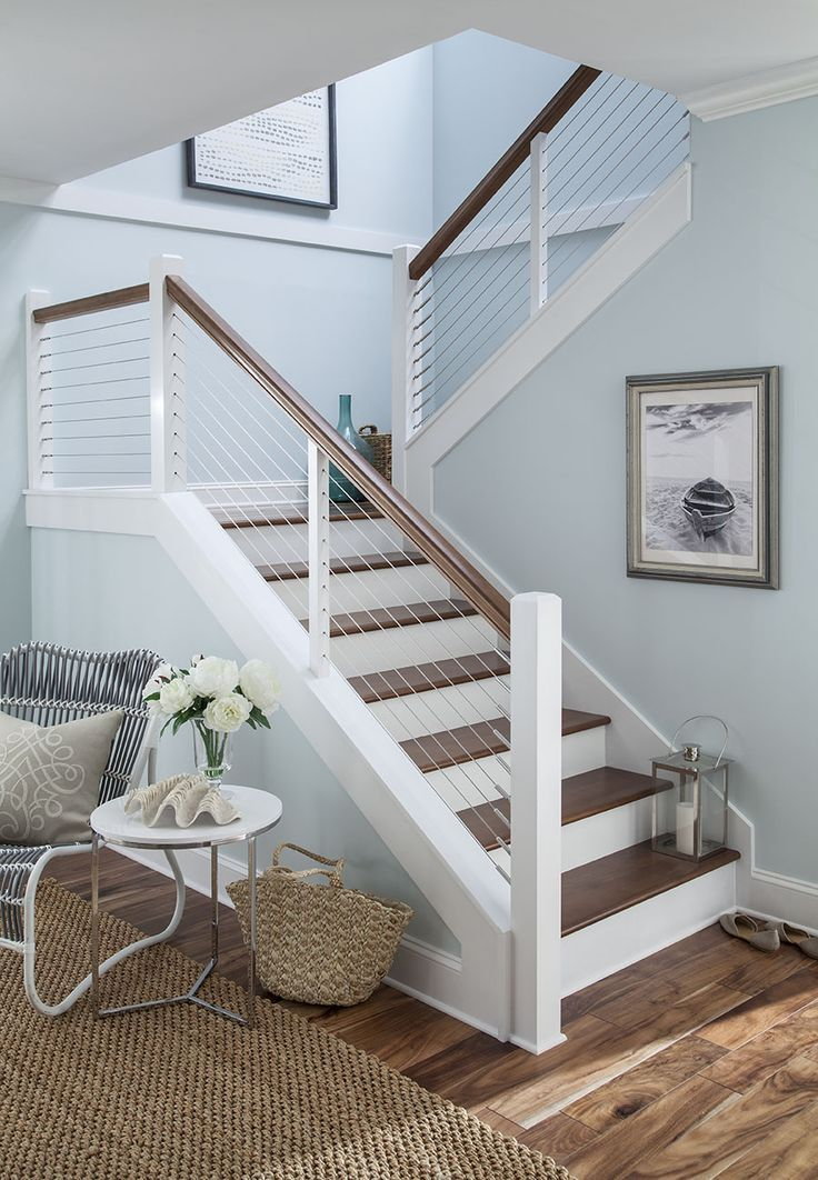 Open up your view! Cable railing is attractive strong and virtually maintenanc