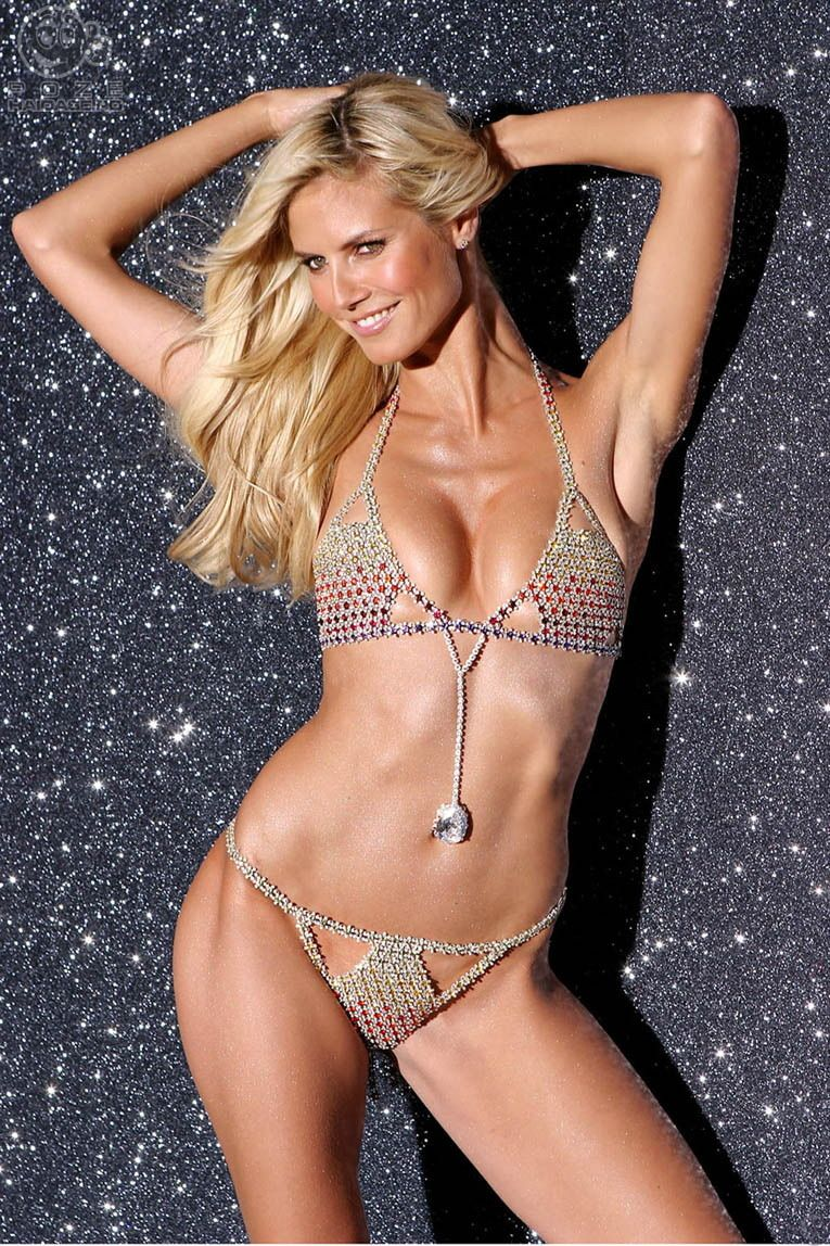 Message simply Heidi klum naked hot have