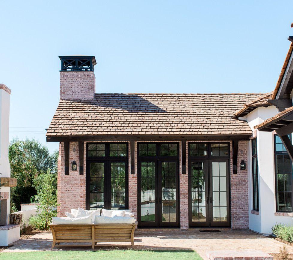 Modern House Red Roof: Rafterhouse, Red Brick House, Cedar Roof