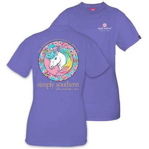 b715eeee3 Simply Southern Preppy Unicorn T-Shirt | cute~clothes
