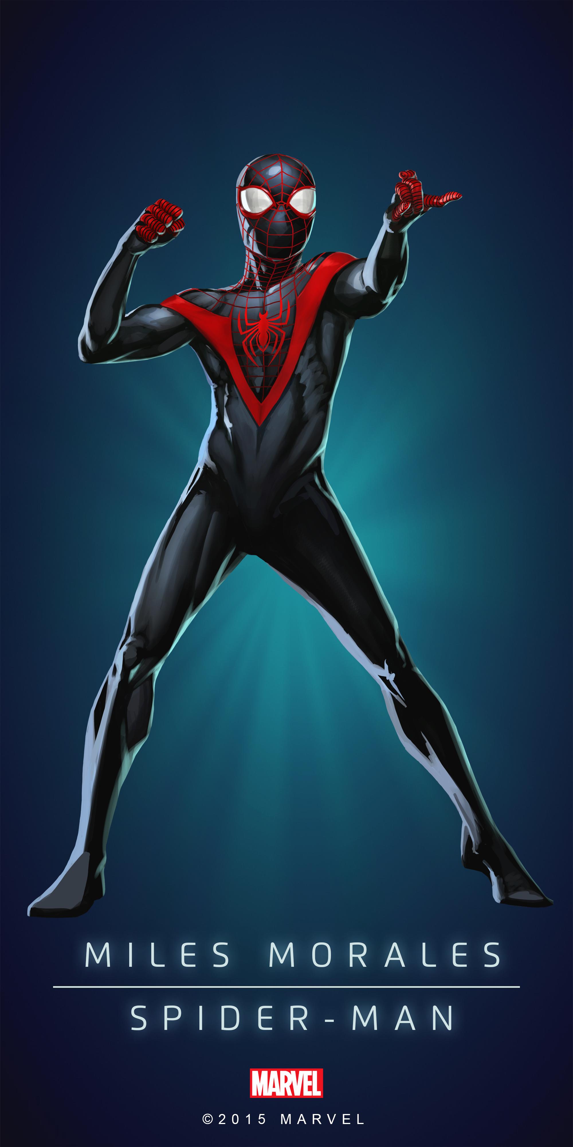 Spider Man Miles Morales Poster 02