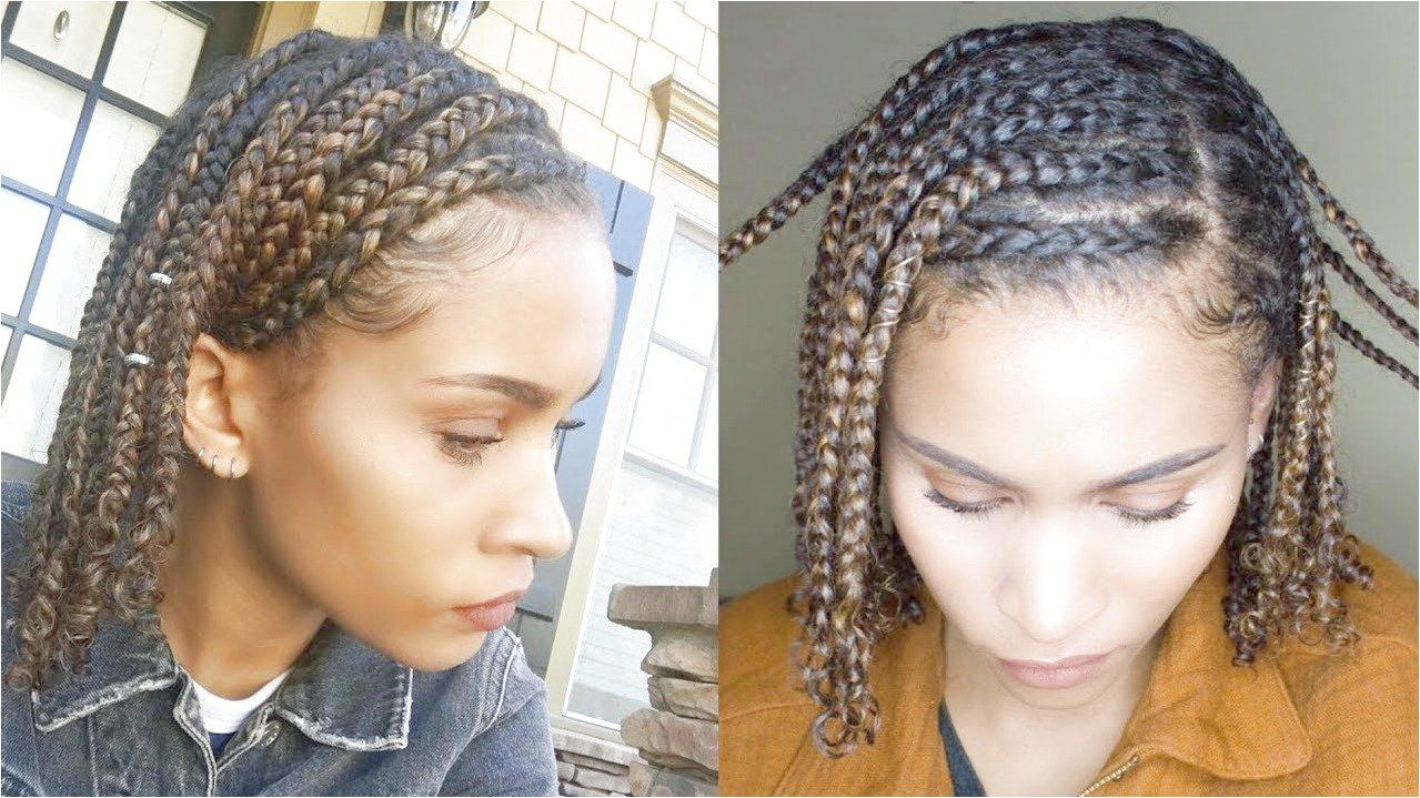 Mini Braids Easy Protective Style For Natural Hair Youtube Braidsformediumlengthhair Like What Yo Natural Hair Styles Easy Easy Braids Natural Hair Styles
