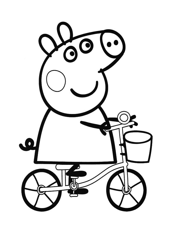 Peppa Pig To Color Buscar Con Google Grandbabies Pinterest