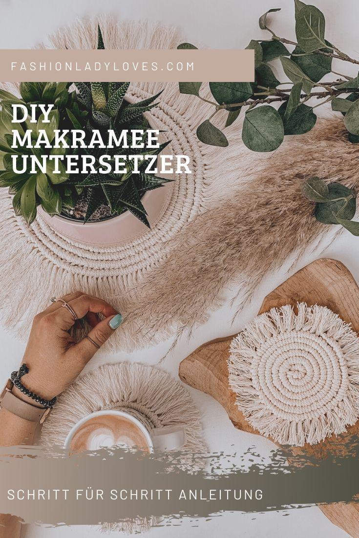Photo of DIY: Makramee Untersetzer selber machen – Fashionladyloves