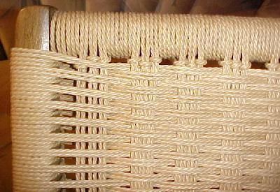 Danish Cord Weave  without nails  Finished projects