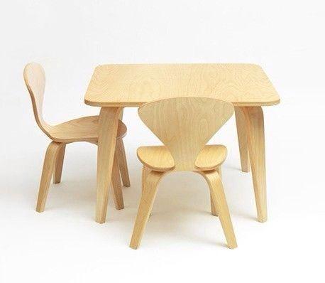 Cherner mesas y sillas infantiles muebles habitaci n for Muebles originales para ninos