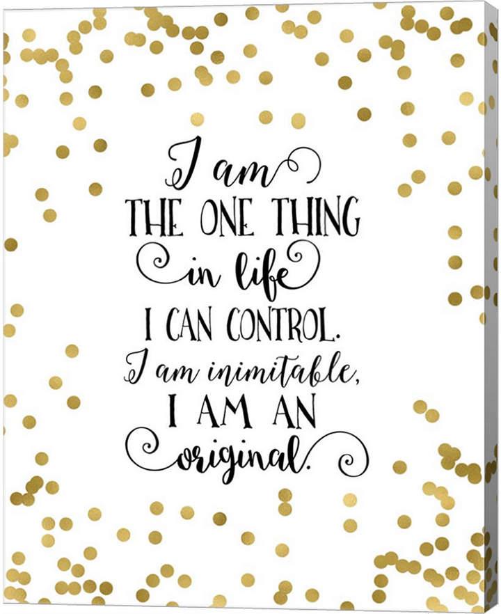 I Am An Original By Tara Moss Canvas Art Tara Moss Canvas Art