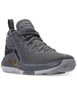 online store 17b87 94dc7 Nike Men s LeBron Witness Ii Basketball Sneakers from Finish Line - Black 11