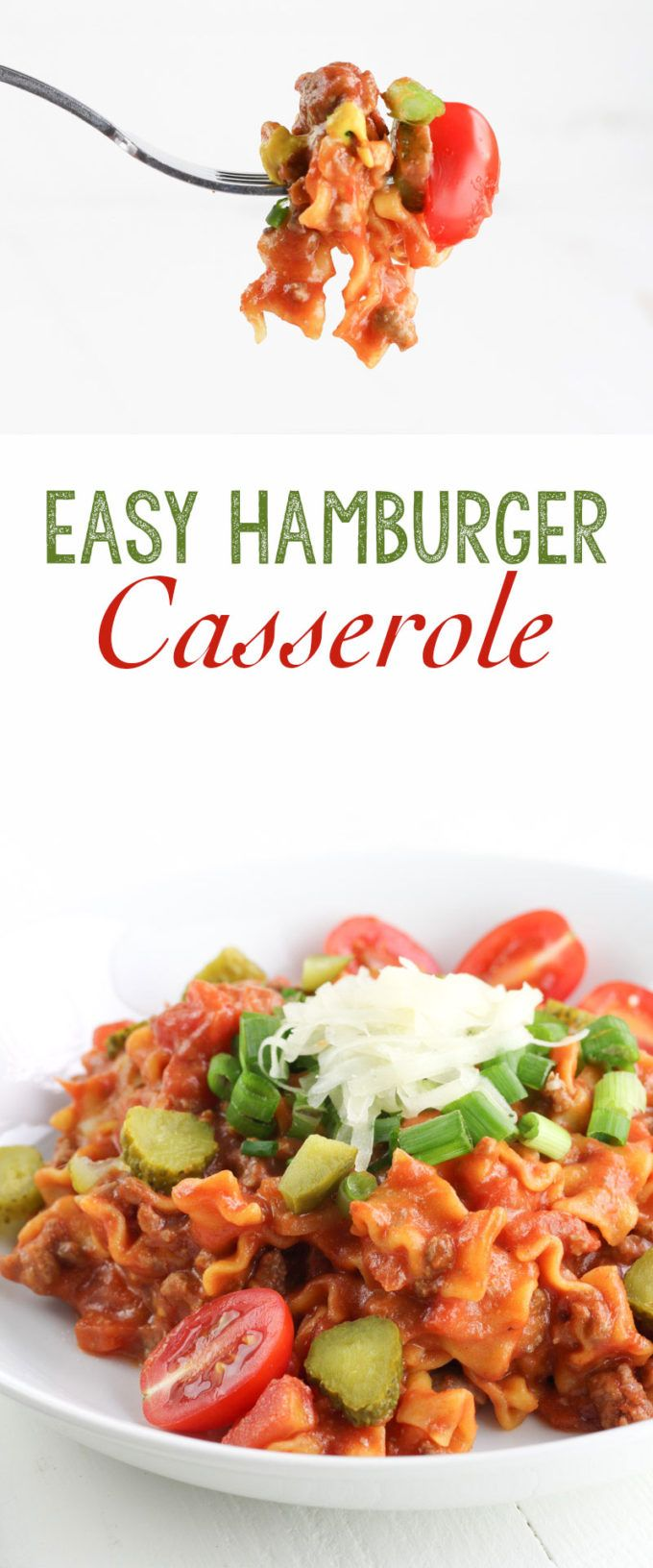 Easy Hamburger Casserole images