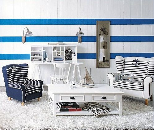 Merveilleux Nautical Nightstand | Nautical Home Decor   10 Easy Ways To Decorate In  Nautical Theme .