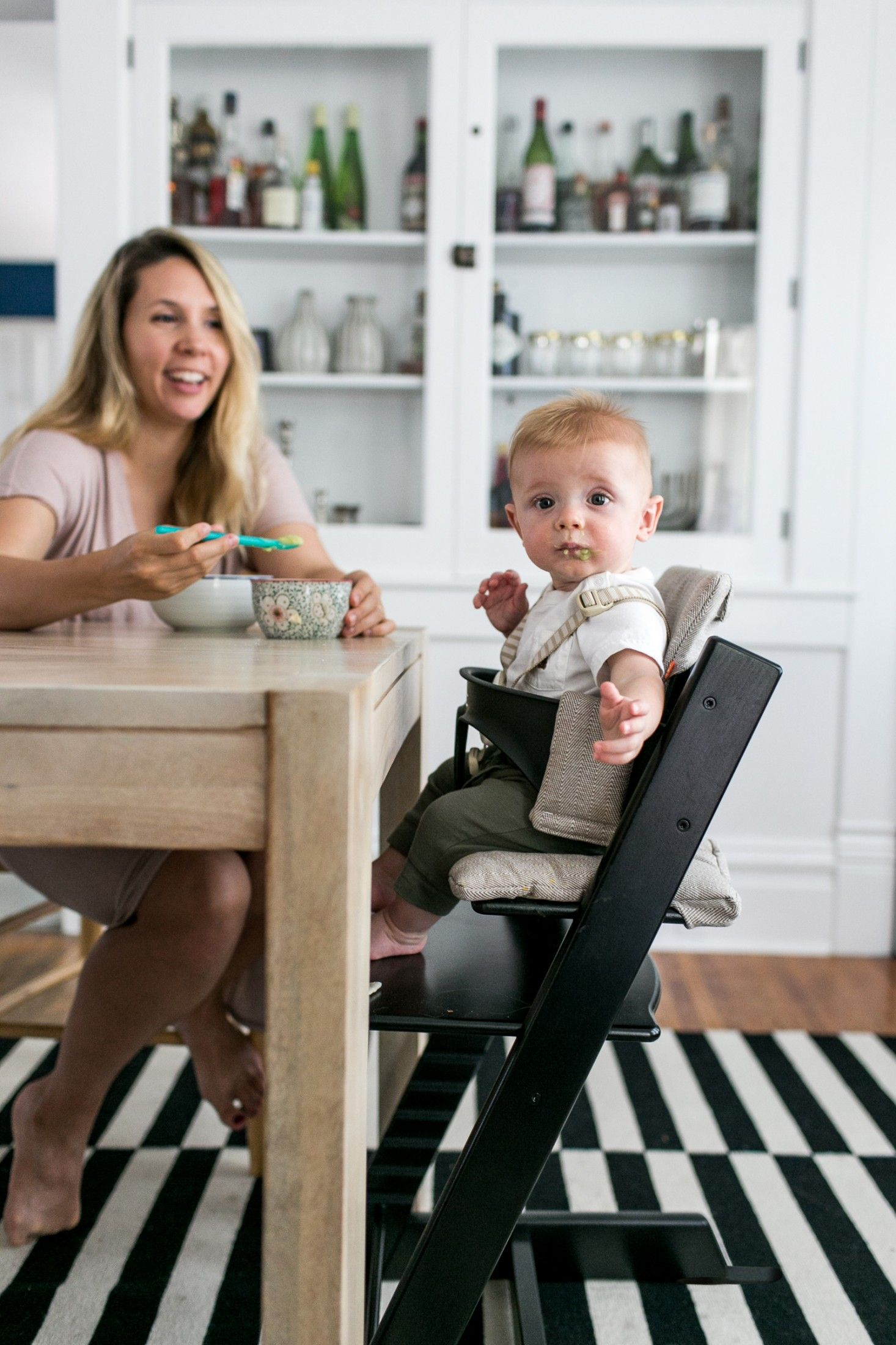 [ad] The Scandinavian Tripp Trapp chair grows with babies ...