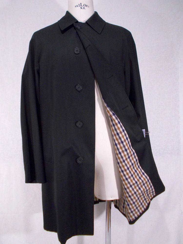 NWT AQUASCUTUM impermeabile uomo NEW BROADGATE rain coat