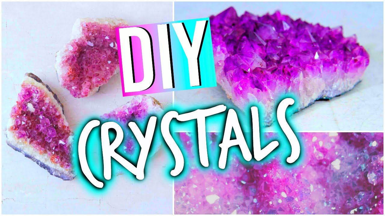 diy room decorations tumblr inspired crystals