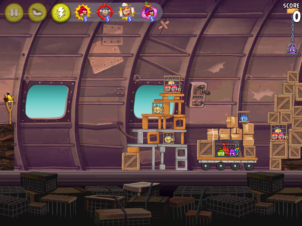 Angry Birds Rio Bonus Levels and Power Ups