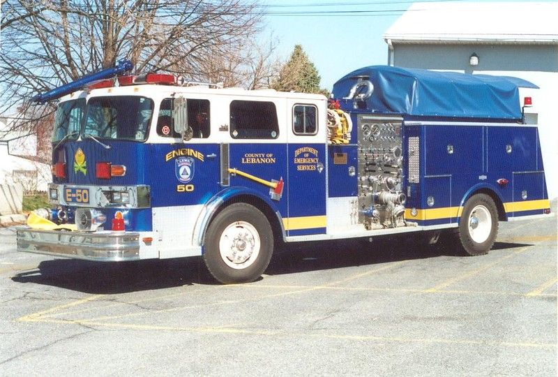 Engine 50 Lebanon County, Pa Fire apparatus, Fire trucks