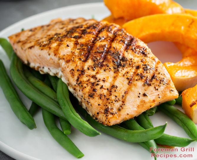 Mind-blowing Blackened Salmon on a George Foreman Grill ...