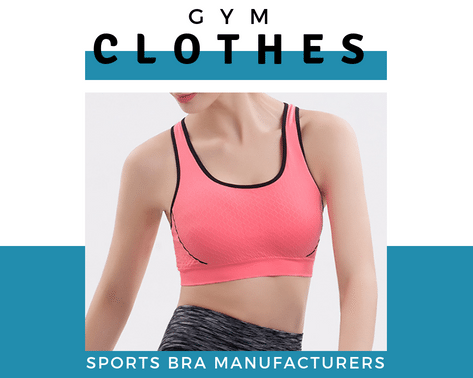 b2e718b5a1d Gym Clothes creates exclusive wholesale sports bra with various styles