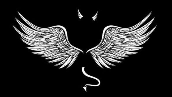 Peak Into Bittersweet Seraphim Angel Wallpaper Wings Wallpaper Dark Wallpaper